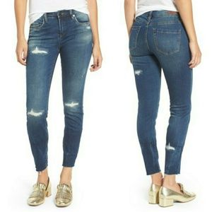 BLANK NYC Denim High Dive Ripped Skinny Jeans